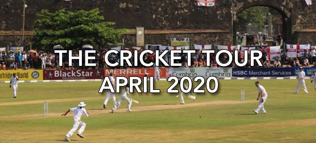 THE CRICKET TOUR 2020